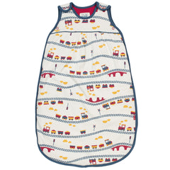 Choo Choo Organic Cotton Sleeping Bag - Angelic Threads
