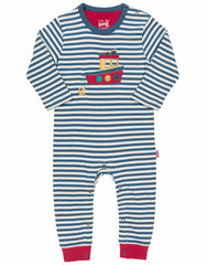 Kite-Clothing Tug Boat Organic Cotton Romper