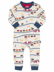 Choo Choo Organic Cotton Romper - Angelic Threads