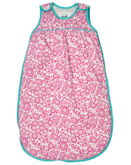 Wildflower Organic Cotton Baby Girl Sleeping Bag