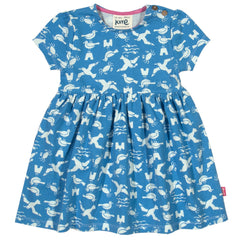 Seagull Organic Cotton Dress - Angelic Threads