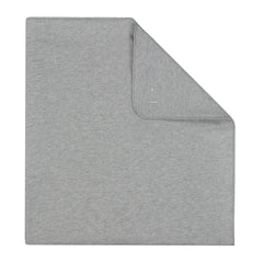 Grey Melange Organic Cotton Baby Blanket - Angelic Threads