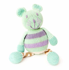 Sophia The Mouse Organic Rattle - Angelic Threads