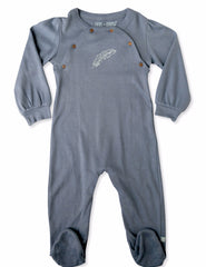Flintstone Organic Cotton Footie - Angelic Threads