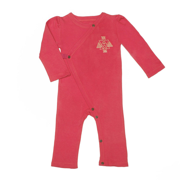 Rose Red Organic Coverall - Angelic Threads