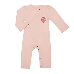 Tropical Peach Organic Cotton Coverall