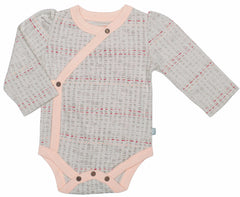 Scribble Long Sleeve Organic Cotton Bodysuit - Angelic Threads