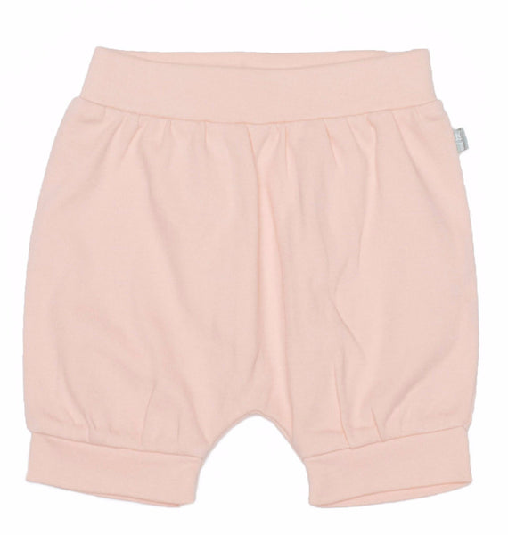 Tropical Peach Organic Cotton Shorts