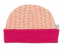 Triangle Print Organic Hat