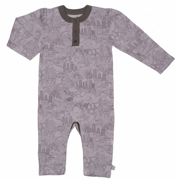 Fairytale Organic Cotton Coverall - Angelic Threads