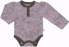 Fairytale Long Sleeve Organic Cotton Bodysuit - Angelic Threads