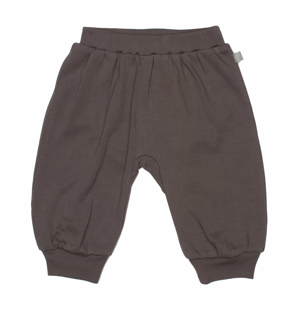 Charcoal Gray Organic Cotton Pants
