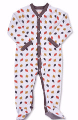 Leaves One-Piece Organic Cotton Footie