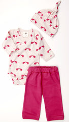 Elephant Organic Cotton Play Set
