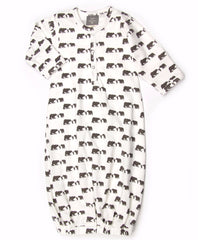 Three Bears Organic Cotton Sacque