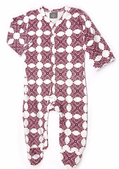 Bloom Organic Cotton Footie Jumpsuit - Angelic Threads