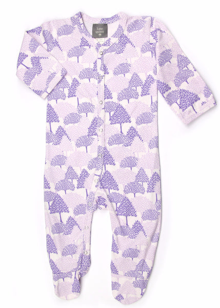 Forest Organic Cotton Footie Jumpsuit - Angelic Threads