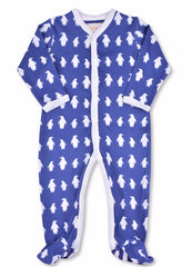 Penguins One-Piece Organic Cotton Footie - Angelic Threads