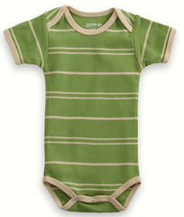 Short Sleeve Organic Cotton Bodysuit - Angelic Threads