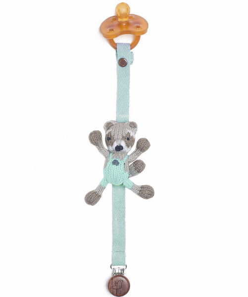 Ramsay Organic Pacifier Holder - Angelic Threads