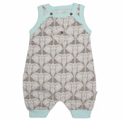 Elephants Organic Cotton Romper