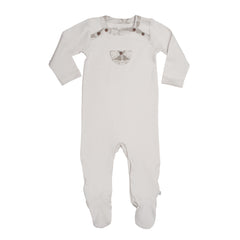 Silver Birch Organic Cotton Footie