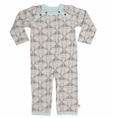 Elephants Organic Cotton Coverall