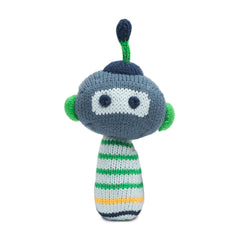 Scout Organic Cotton Mini Rattle - Angelic Threads