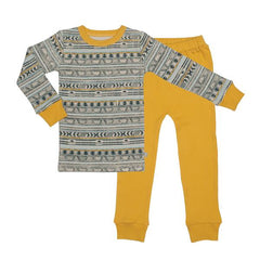 Tribal Stripe Organic Cotton Pajamas