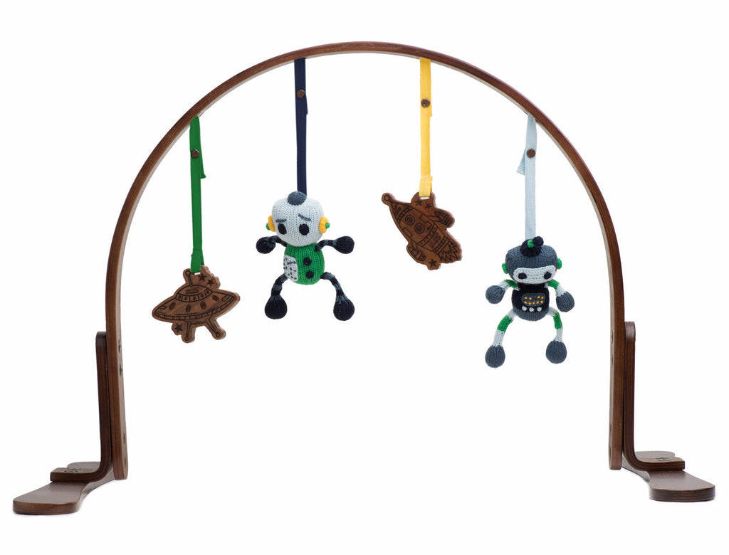 Robot Organic Play Gym - Angelic Threads