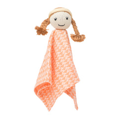 Clementine Organic Rattle Lovie - Angelic Threads