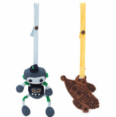 Scout & Rocket Stroller Buddy Set - Angelic Threads