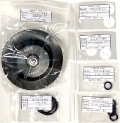 Across International Dual Diaphragm Rebuild Kit for ULVAC DTC-41 1.6 cfm Pumps