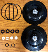 Across International Dual Diaphragm Rebuild Kit for ULVAC UDP 6 cfm Pumps
