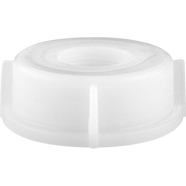 "Heavy 16 White, 1G/2.5G Cap with 3/4"" Reducer for Spigot (4L/10L)"