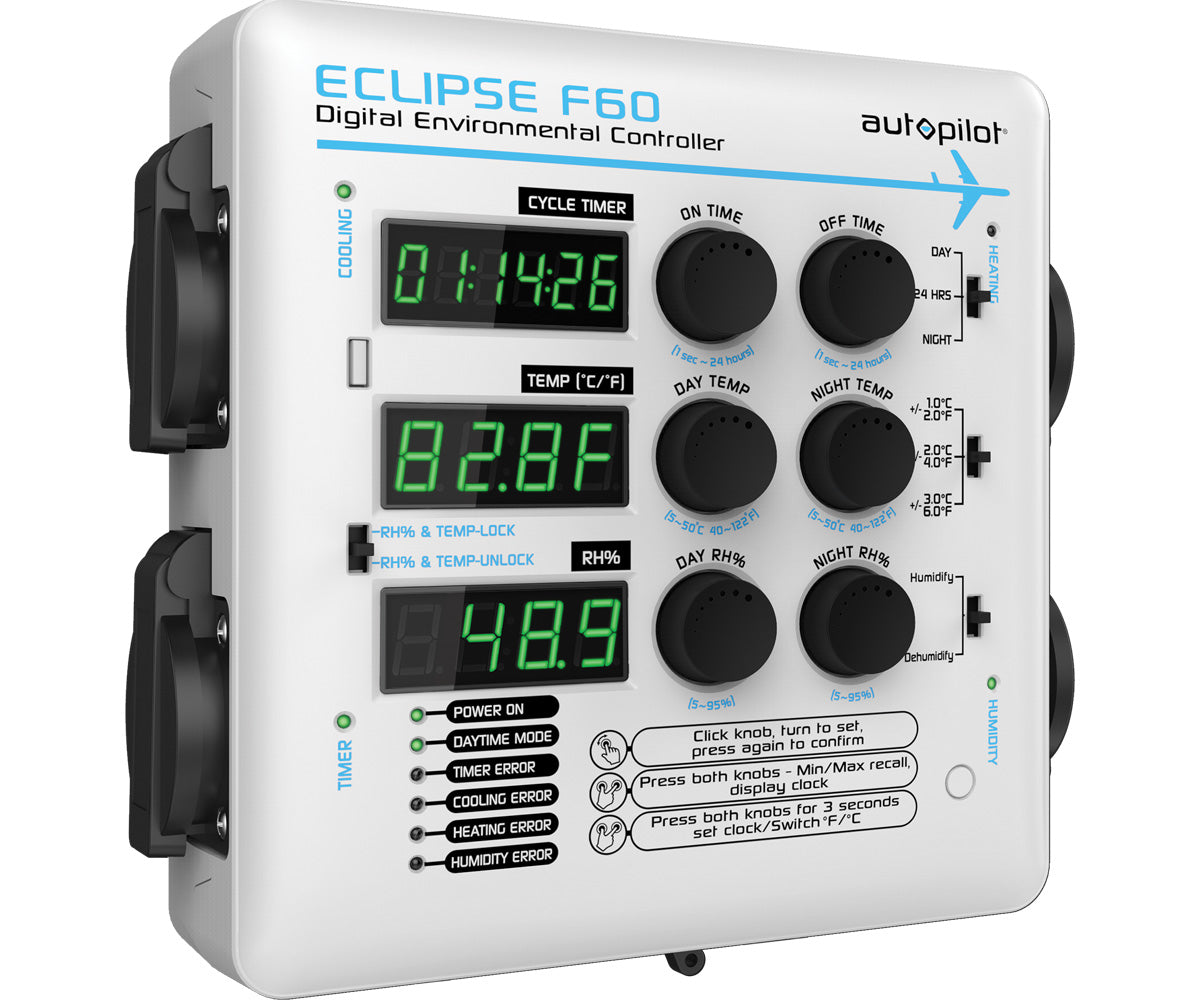 Autopilot ECLIPSE F60 Digital Environmental Controller