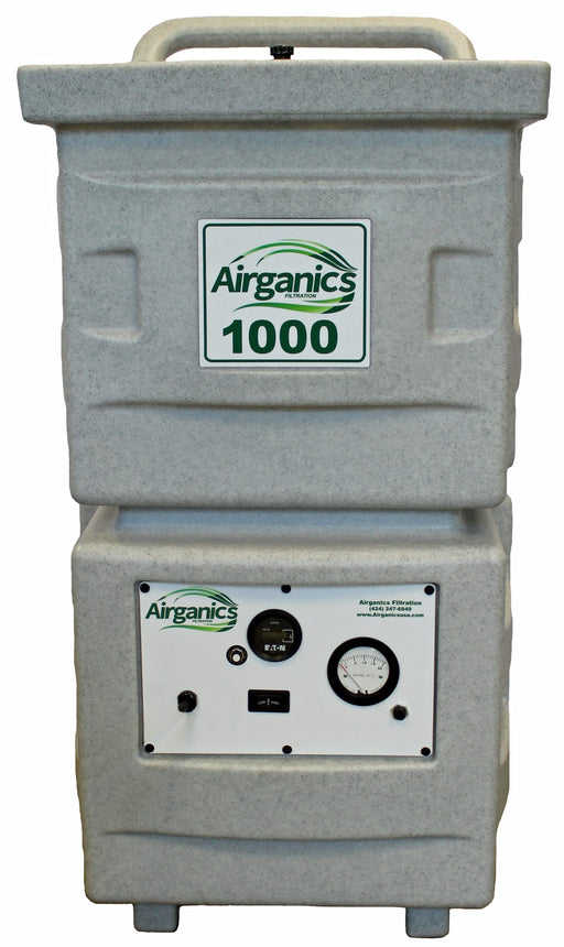 Airganics 1000 - 115v 60hz w/ Carbon Fusion Filter, Carbon Filter and Prefilter