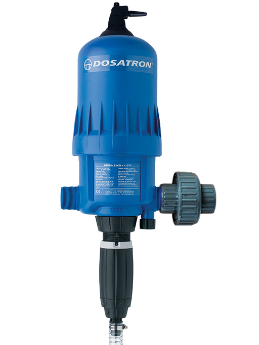 D8RE5 -  37.5 to 190mL per gal. (1:100 to 1:20) - Dosatron Water Powered Nutrient Doser - 40gpm