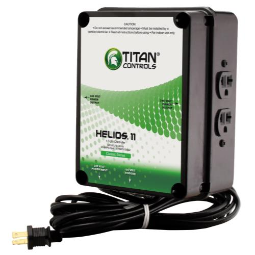 Titan Controls® Helios® 11 - 4 Light 240 V Controller with Trigger Cord
