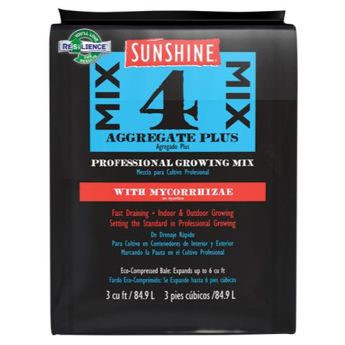 Sunshine® Mix #4 with Mycorrhizae