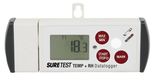 Sure Test® Temperature and Relative Humidity Data-Logger