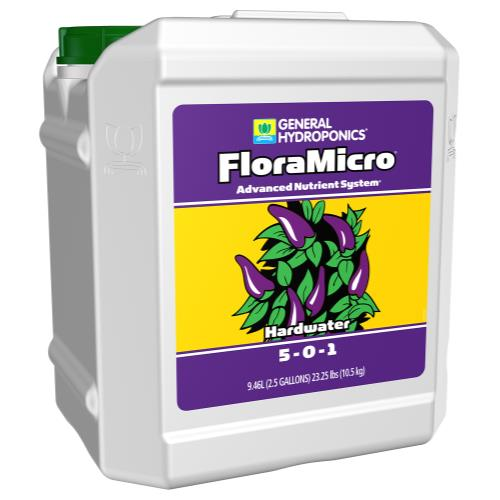 General Hydroponics® Hardwater FloraMicro® 5-0-1