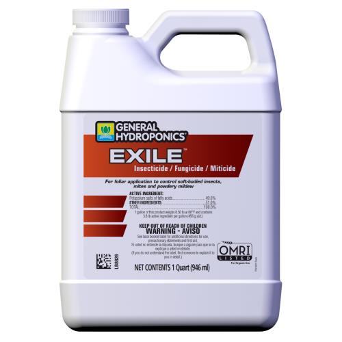 General Hydroponics® Exile™ Insecticide/Fungicide/Miticide