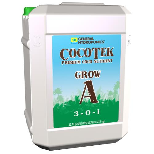 General Hydroponics® CocoTek® Grow - A 3 - 0 - 1 & B 1 - 2 - 4