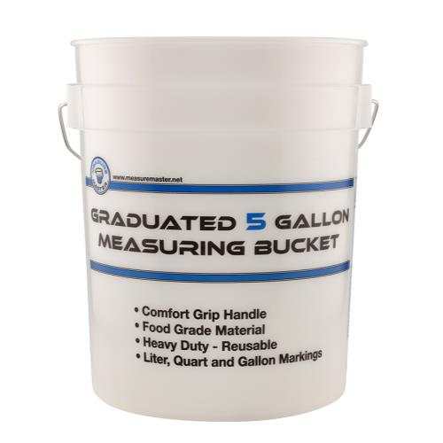 Measure Master® Graduated Measuring Buckets