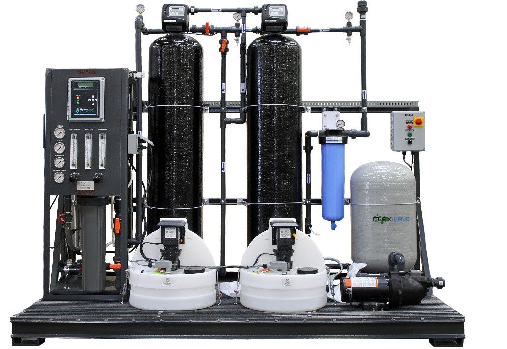 19,000 GPD HyperLogic RO Units with Manganese Pre-Filtration Plan (WITH Plug & Play Skid Assembly, WITH ORP Monitors)