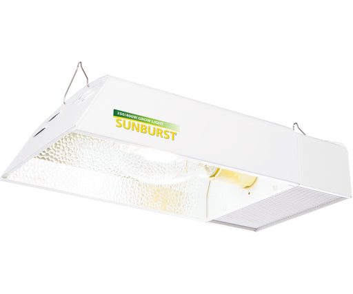 Sunburst Convertable HPS/MH Fixture w/Digital Ballast, 250W/400W (No Lamp)