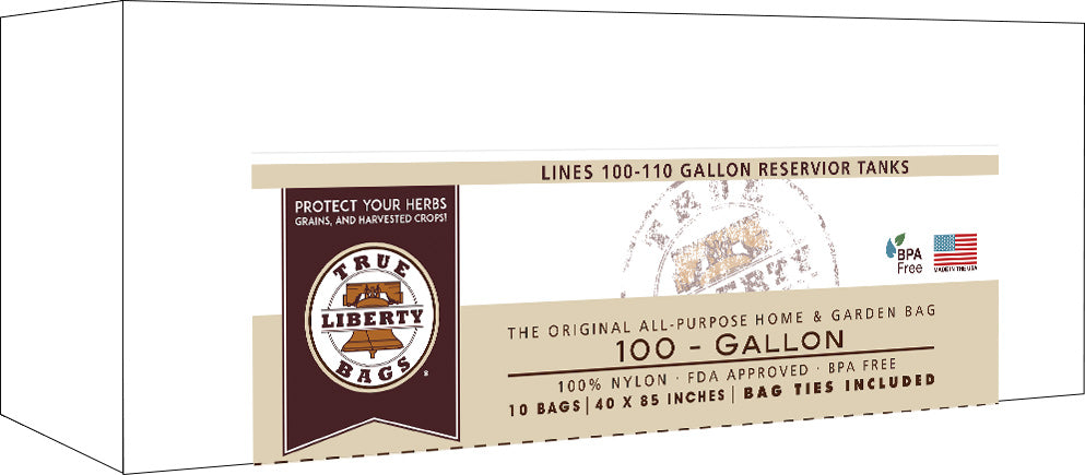 True Liberty 100 Gallon Bags, pack of 10