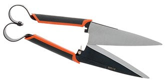 Zenport Heavy Duty Onion/Topiary Shear with ergo-grips and blade lock