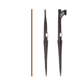 DIG Iron rods stakes-ACCESSORIES FOR MINI SPRINKLER AND MICRO SPRINKLERS  USED IN UPRIGHT POSITION